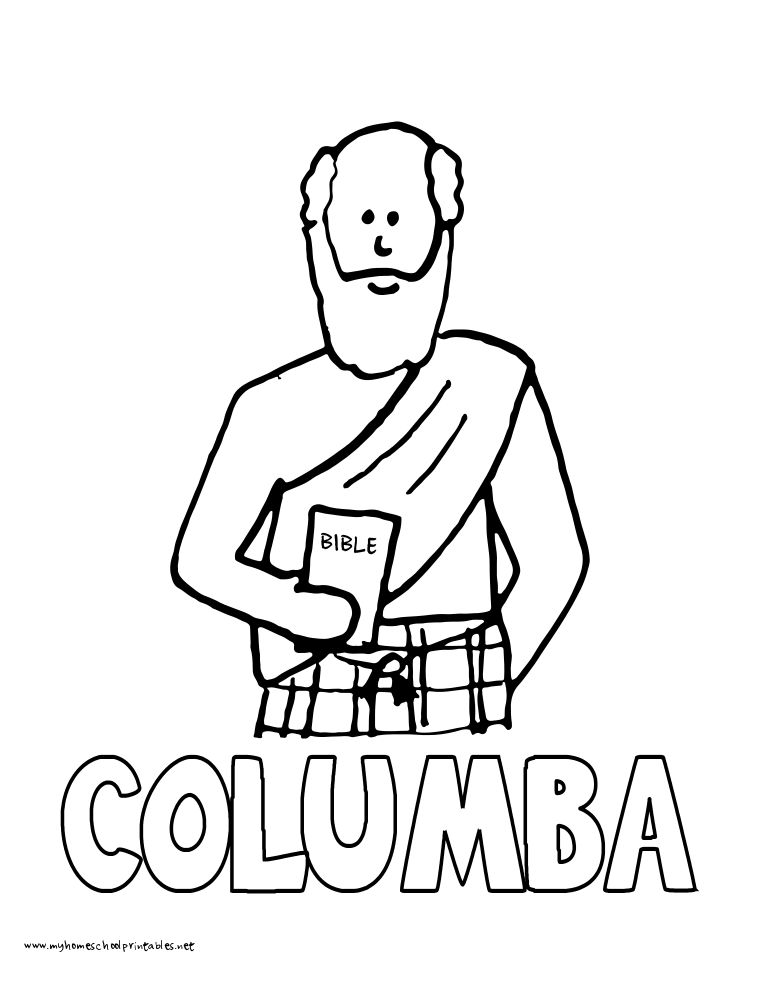 World History Coloring Pages Printables Columba