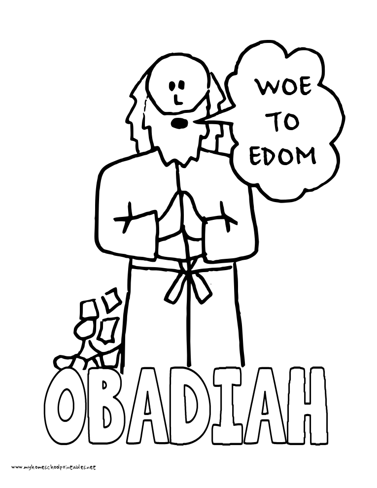 World History Coloring Pages Printables Obadiah