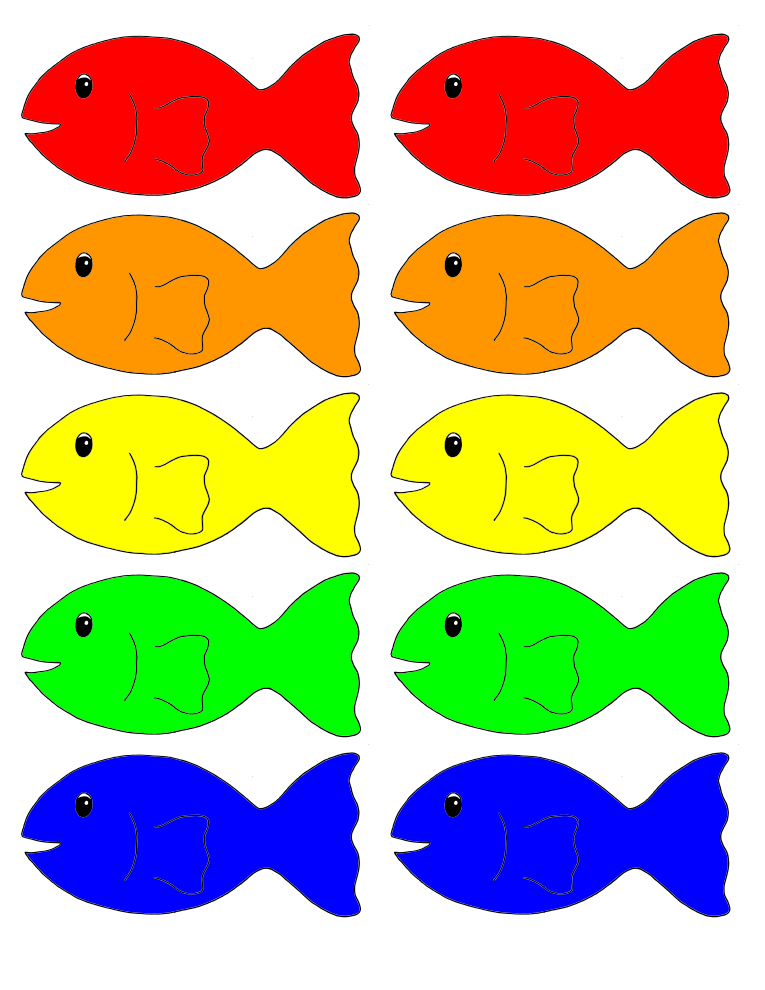 photograph relating to Printable Fish Pictures identified as My Homeschool Printables » Move Fish!
