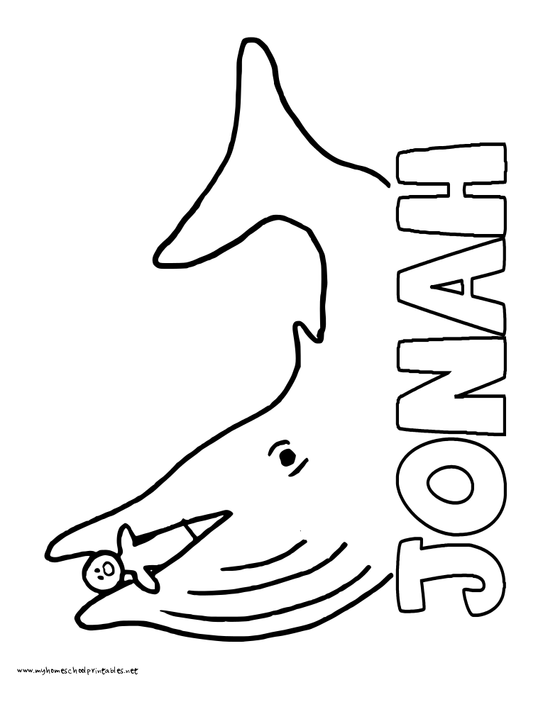 World History Coloring Pages Printables Jonah