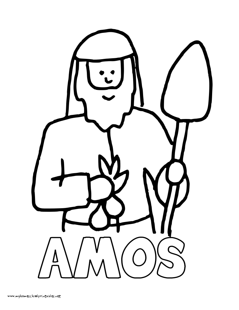 World History Coloring Pages Printables Amos