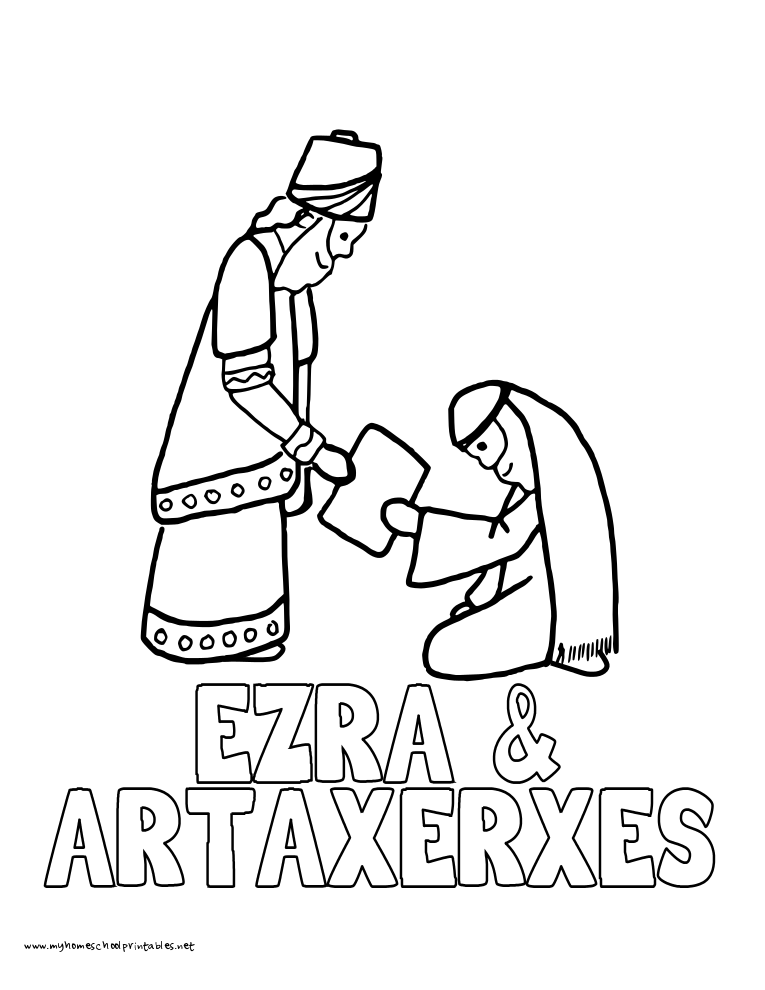 World History Coloring Pages Printables Ezra