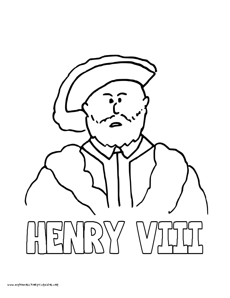 Henry David Thoreau Coloring Page John