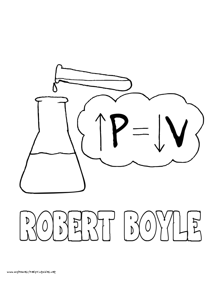 World History Coloring Pages Printables Robert Boyle