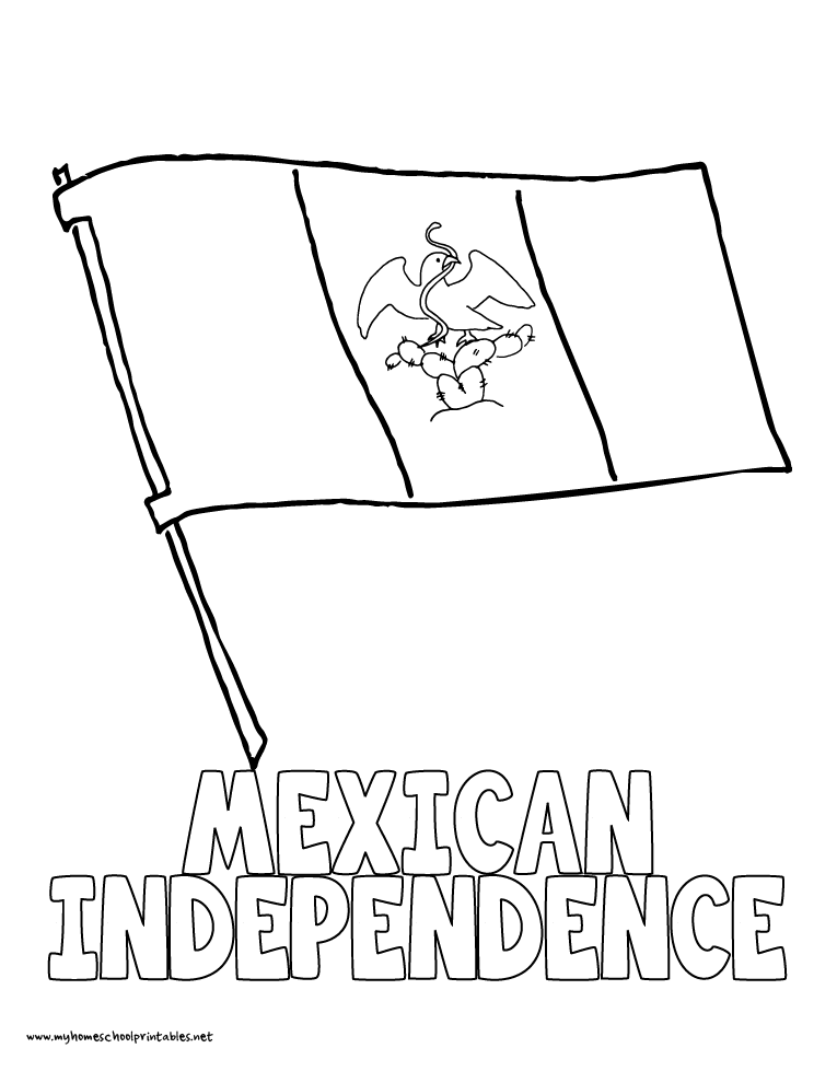 Mexican Independence Day Coloring Pages. Mexican Independence Day ...