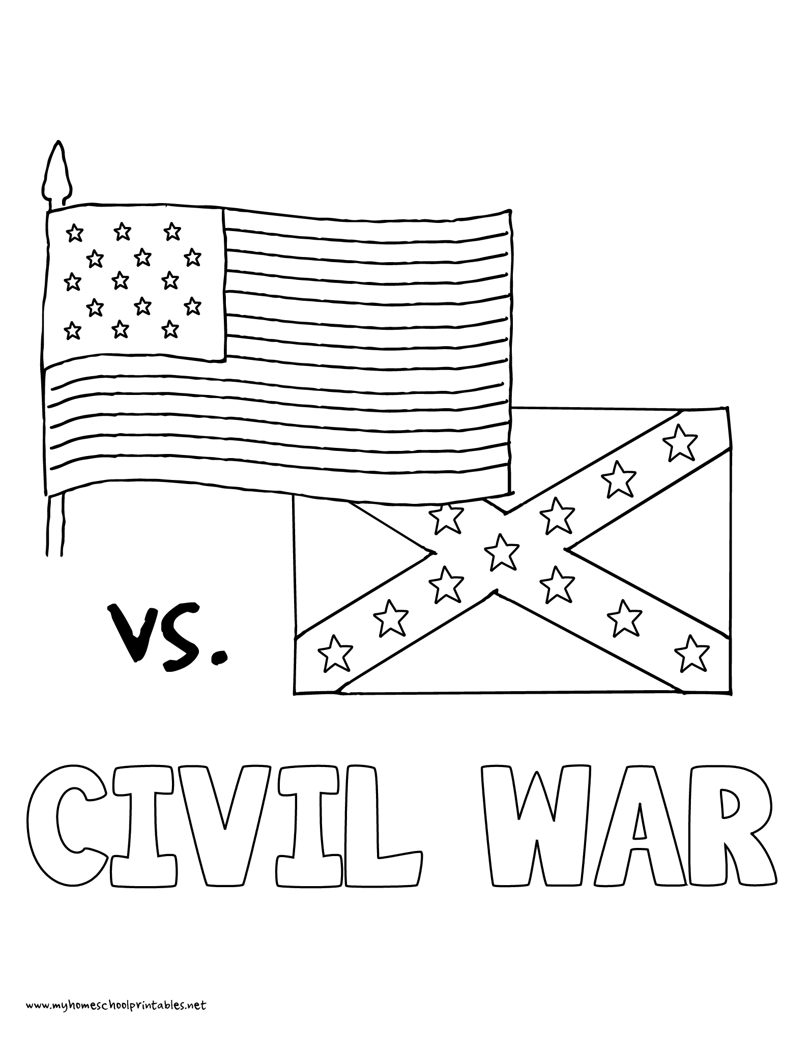Coloring pages us history