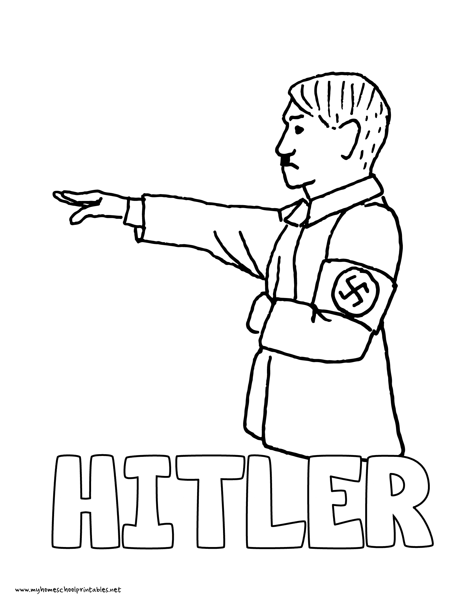 nazi coloring pages - photo#7