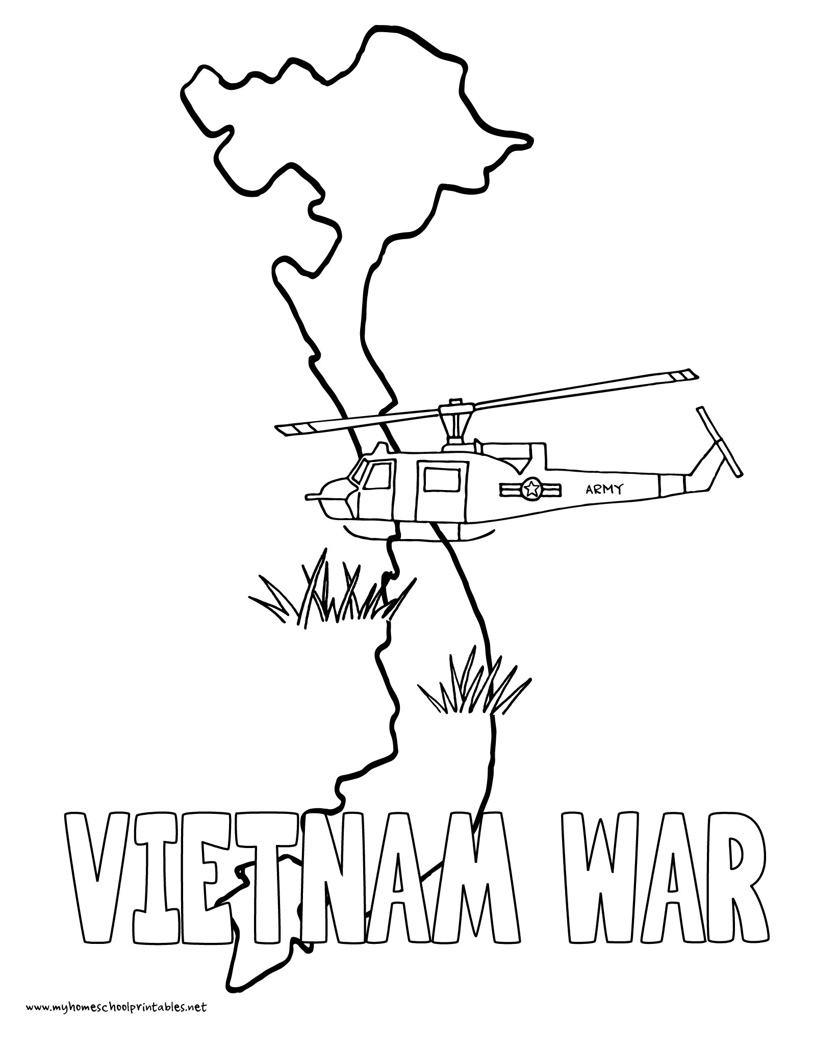 My homeschool printables history coloring pages volume 4 for Vietnam coloring pages